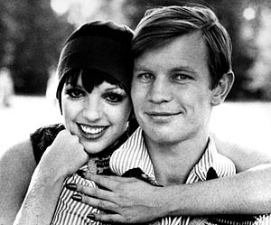 Micheal York with Liza Minelli in Cabaret